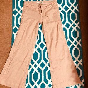 Level 99 khaki linen pants